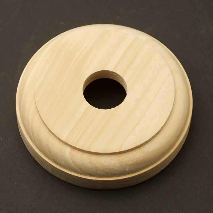 Hoop Pine Round Single Switch Block