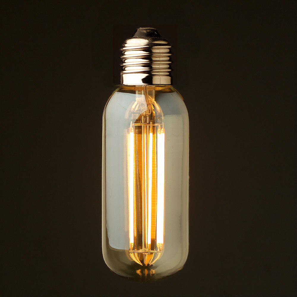 6 watt dimmable lantern filament led e27 short tube bulb Light bulb lamps