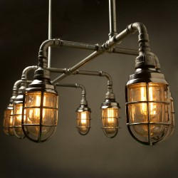 Gal-Dining-table-Plumbing-pipe-light-cage-only-under