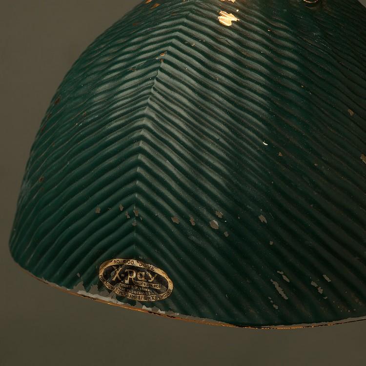 Green Mirror X-Ray Shade Booth Pendant