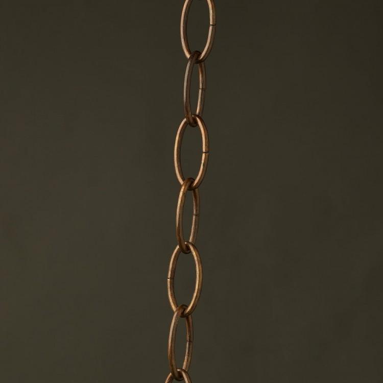 Medium Lighting Chain Oval Bronze