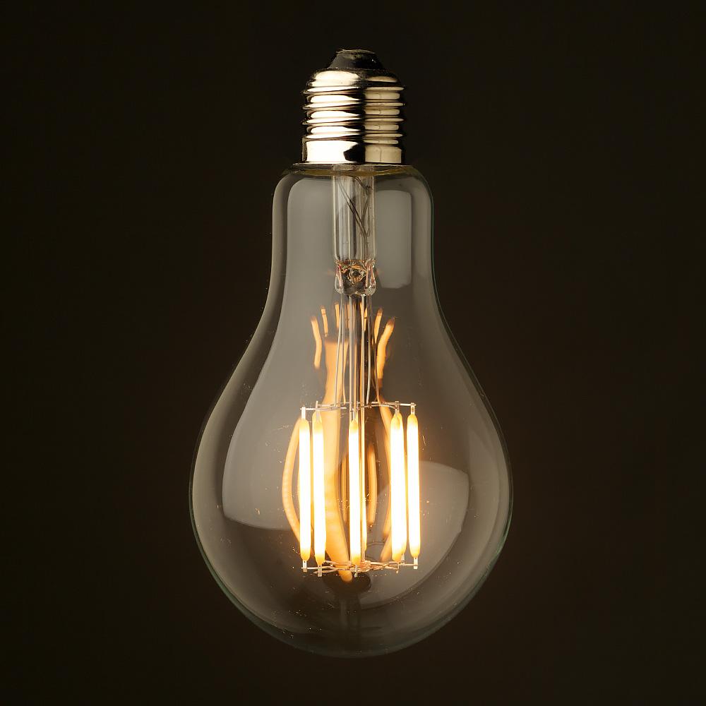 6 watt dimmable filament led e27 a75. Black Bedroom Furniture Sets. Home Design Ideas