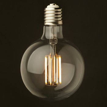 8 Watt Dimmable Filament LED E40 G150