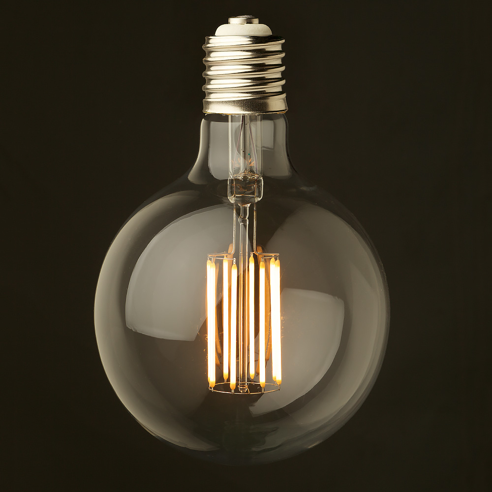 8 watt dimmable filament led e40 g150 Light bulb lamps