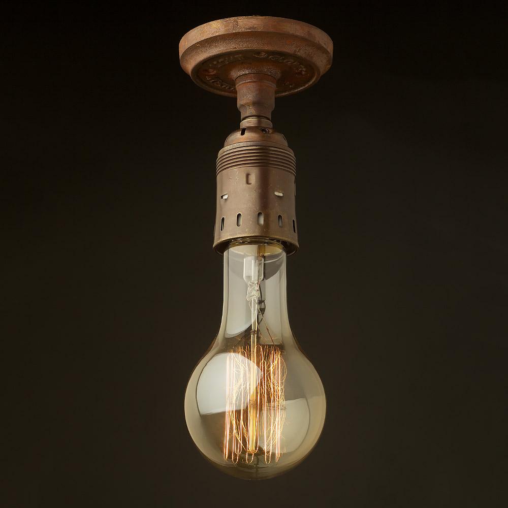 Http Edisonlightglobes Com Shop Shop Ceiling Lights Antiqued Batten Holder Edison E40 Fitting
