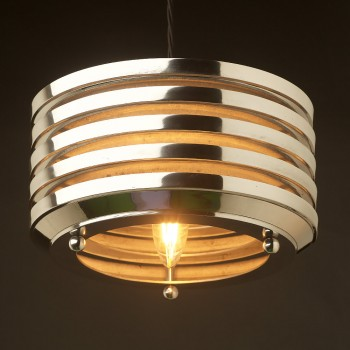 Art-deco-aluminium-disc-light-pendant