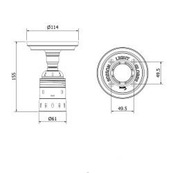 Batten-Holder-Edison-E40-fitting