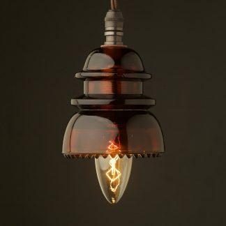Insulator No42 Amber SES pendant light