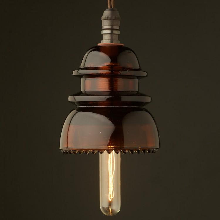 Insulator No42 Amber SES pendant light