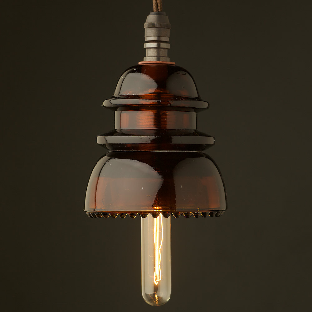 Insulator no42 amber ses pendant light for Insulator pendant light