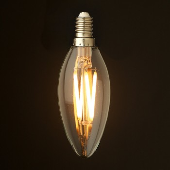 4-Watt-Dimmable-Filament-LED-E14-Candle-bulb