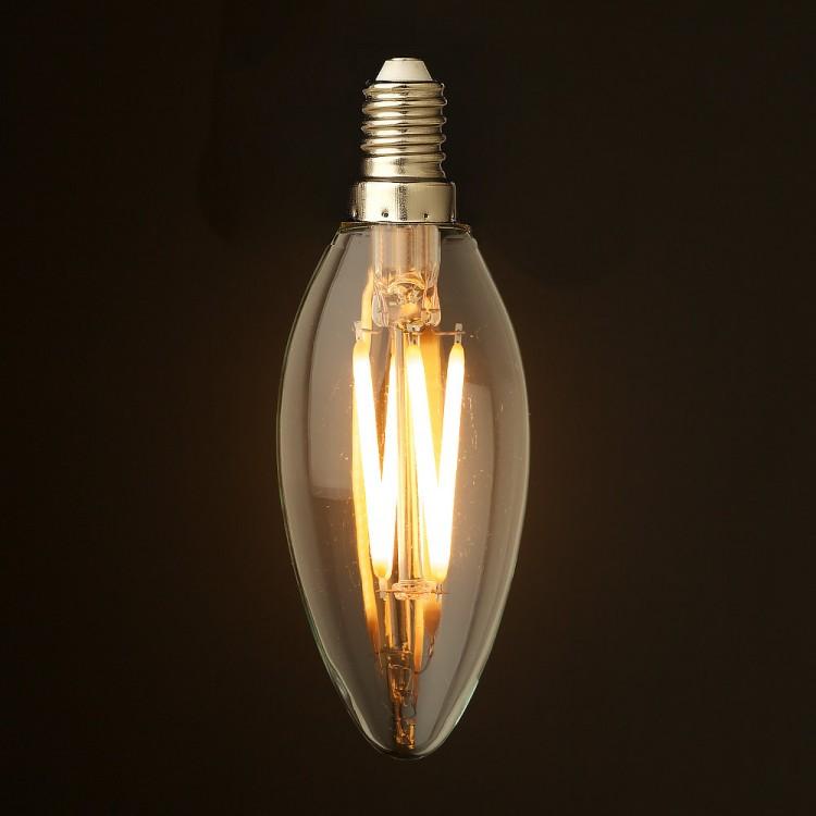 4-Watt-Dimmable-Filament-LED-E14-Candle-bulb