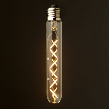 4 Watt Dimmable Zig Zag Filament LED E27 Medium Tube