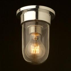 Aluminium-Flushmount-glass-light