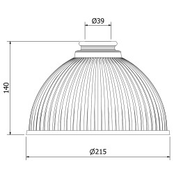 Holophane-Dome-Light-Shade