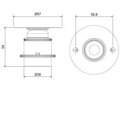 short e27 brass batten holder. Black Bedroom Furniture Sets. Home Design Ideas