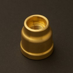 Lampholder-to-plumbing-pipe-coupler-brass