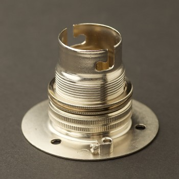 Nickel-B22-batten-holder