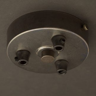 Bronze Multiple drop Plastic Cord grip ceiling plate