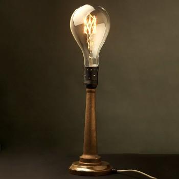 Cast-Brass-Fire-Hose-Nozzle-Table-Lamp-E40