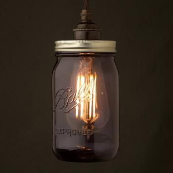 Widemouth-Purple-Preserving-Jar-E27-240V-pendant-light