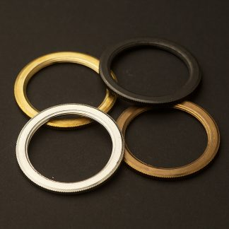 Shade rings for E27 brass lampholder