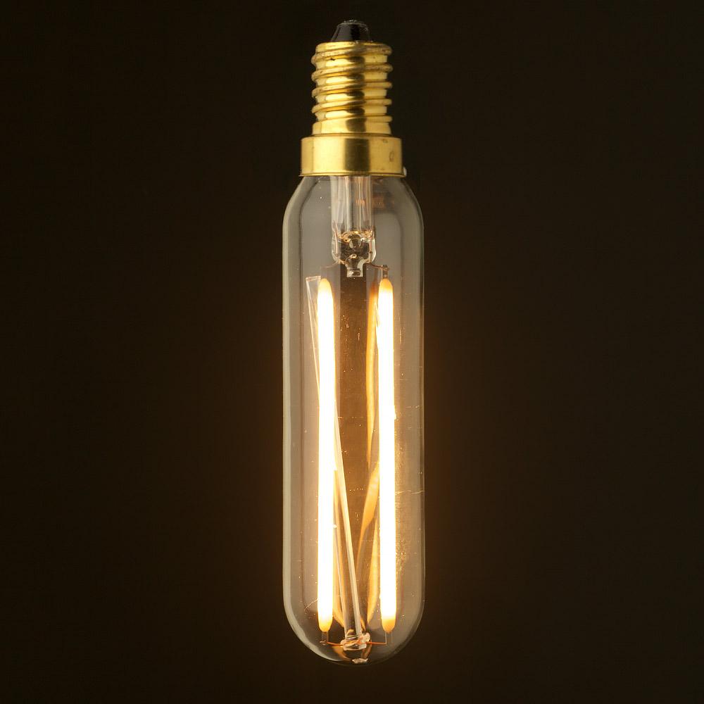 3 watt dimmable filament led e14 tube bulb. Black Bedroom Furniture Sets. Home Design Ideas