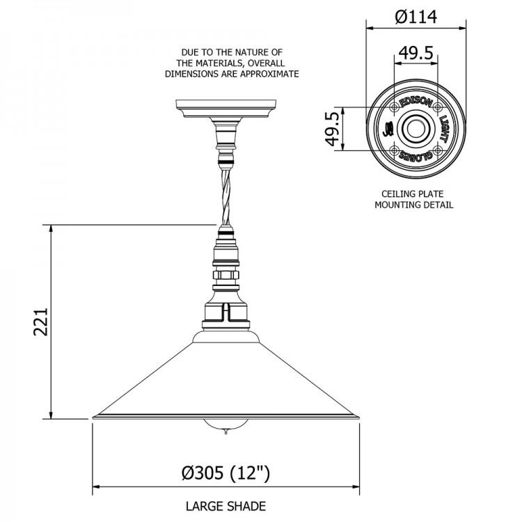 Plumbing Pipe Shade Pendant