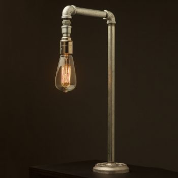 Plumbing Pipe Fixed Table Lamp