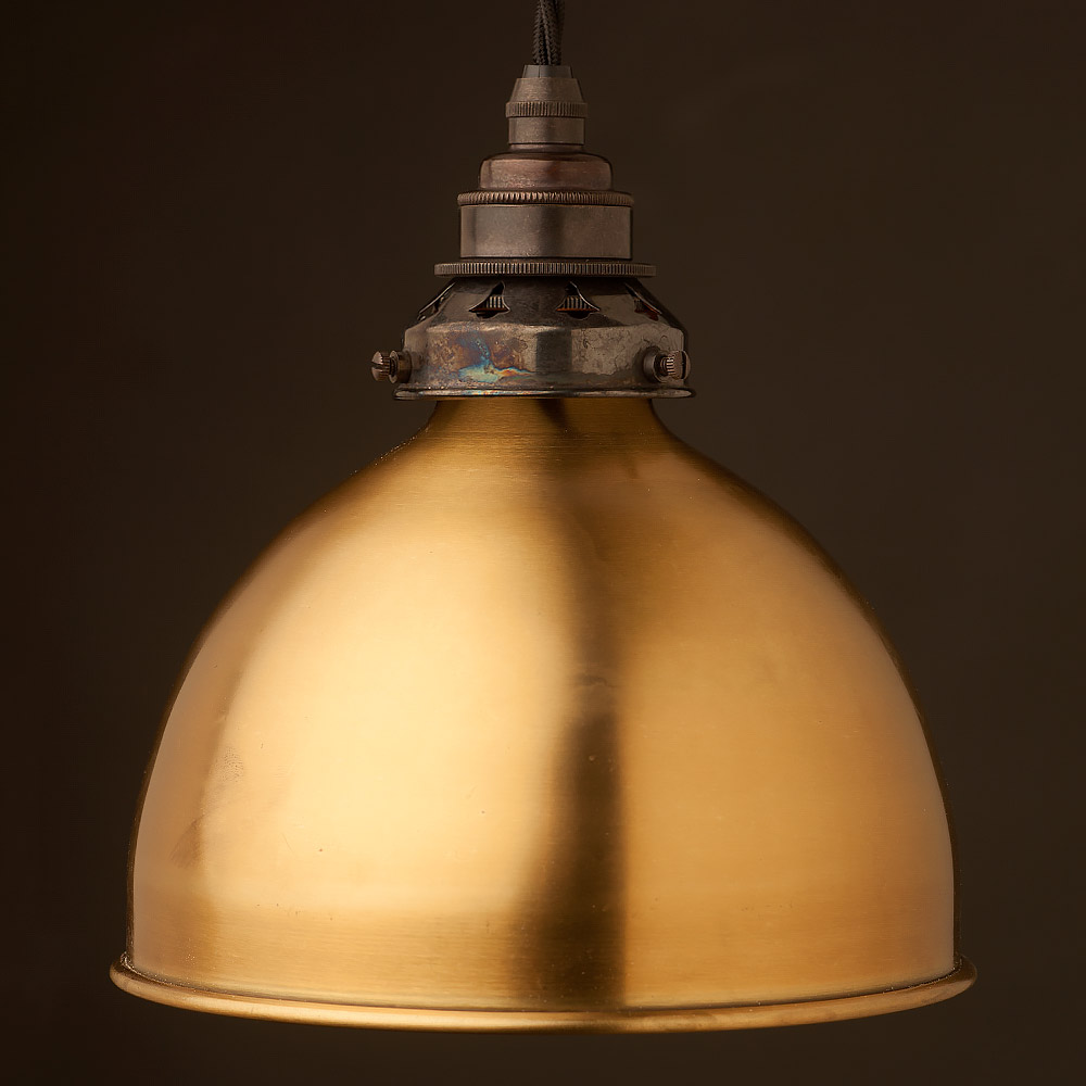 Brass dome light shade pendant mozeypictures Image collections