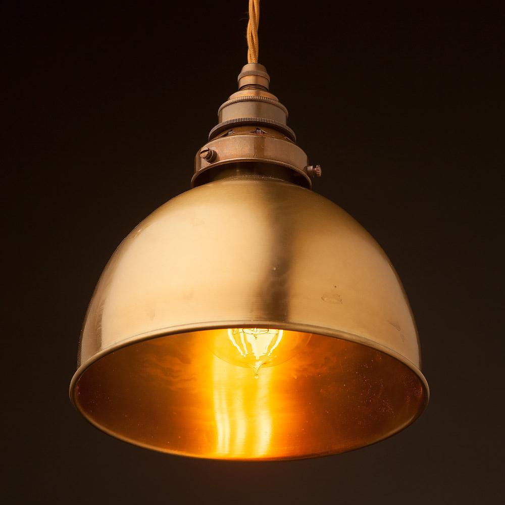 lighting copper light loading small dome zest zoom lamp beaten pendant