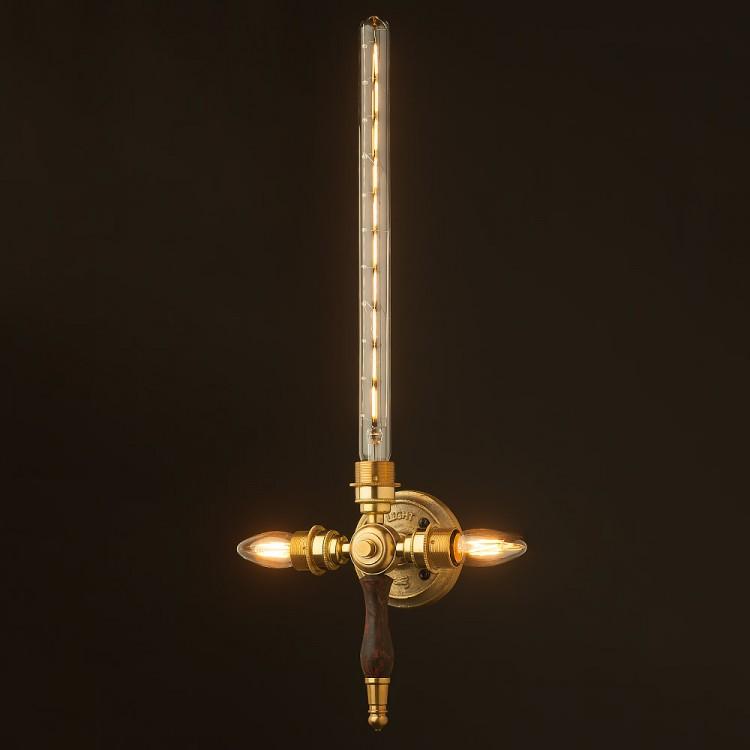 New Brass Sword Wall Light