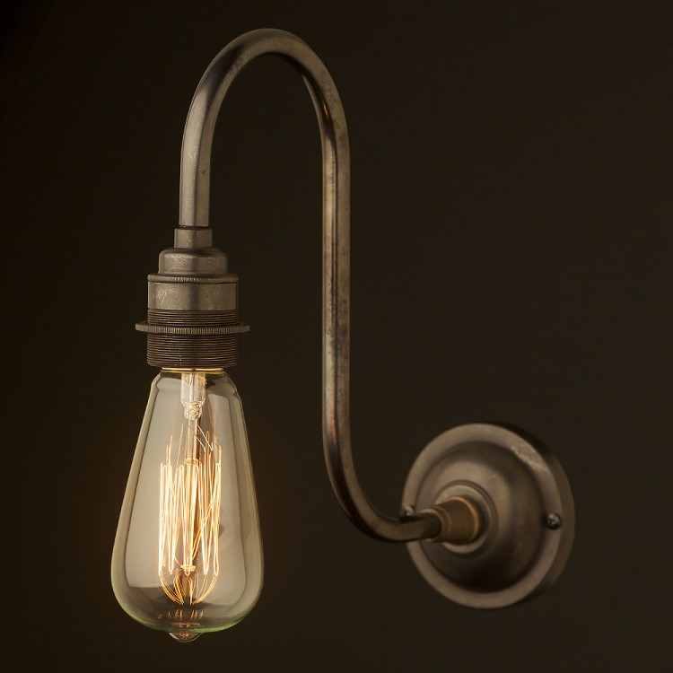 Bronze Doncaster Bend Wall Light