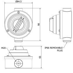 Switch-IP66-20mm