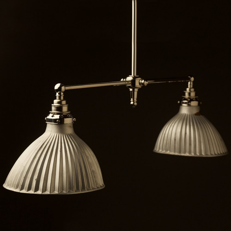 Silver Mirror X-Ray Shade Booth Light