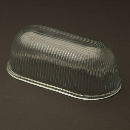 Replacement glass for small oval bulkhead light