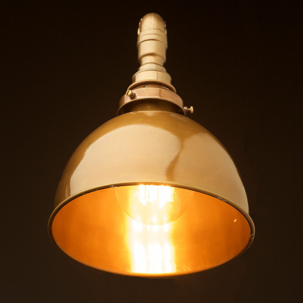 Brass Shade Wall Bracket Light