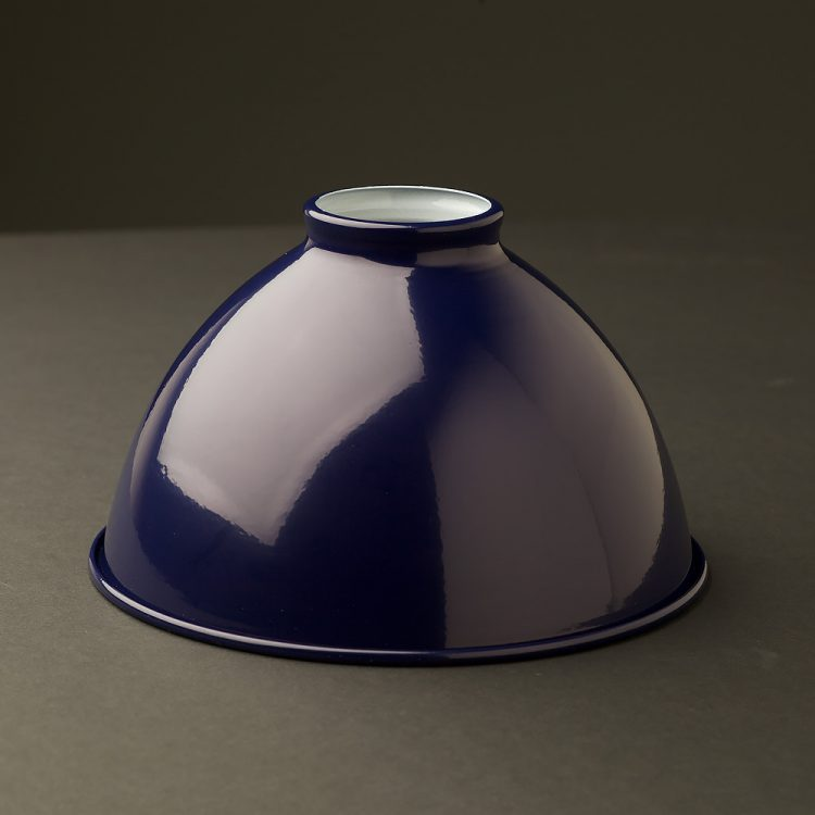 Blue 7 inch Dome Light Shade