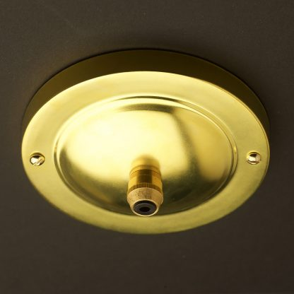 Large new brass cord grip ceiling plate