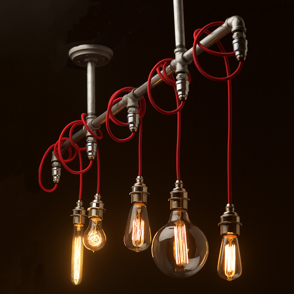 light pendant product bare cluster original bareboneslighting bones shade lighting chandelier by