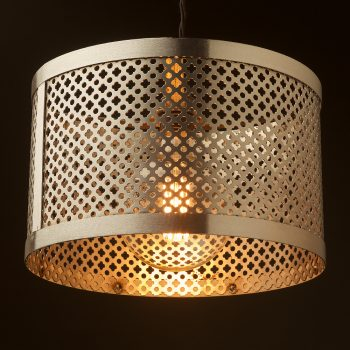300mm-steel-club-and-round-mesh-shade