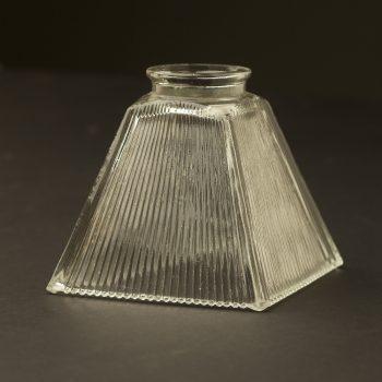 Box-shaped-Holophane-glass-light-shade