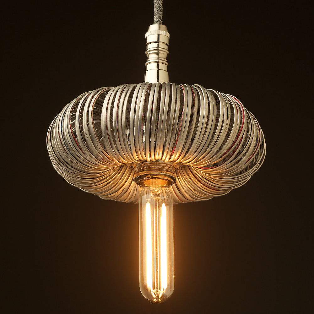 Hanging Light Fittings Wholesale: Nickel Pendant Light Fitting Of Aluminum Can Top Rings