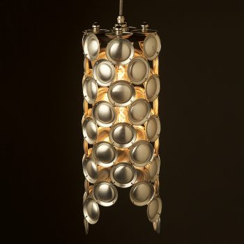 Cylinder-Pendant-Light-fitting-of-aluminum-can-bases