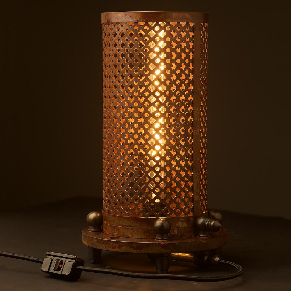 Vintage Club Amp Round Desk Lamp