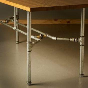 1800 medium plumbing pipe table base kit