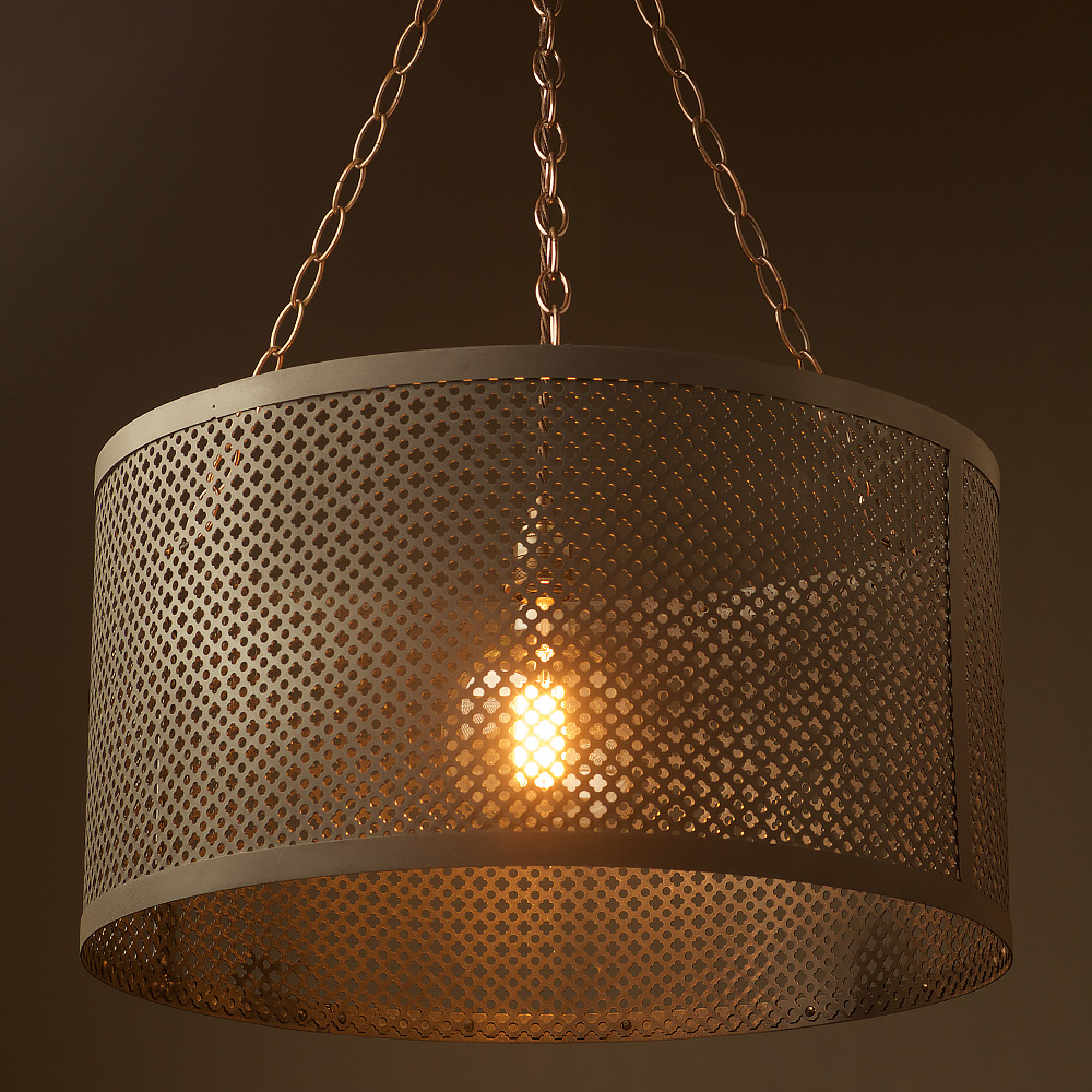 560mm Steel Club And Round Mesh Shade