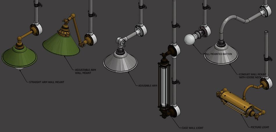Galvanised Steel Electric Conduit Fittings