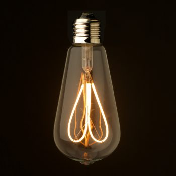 2-Watt-Dimmable-Loop-Filament-LED-E27-Clear-Edison