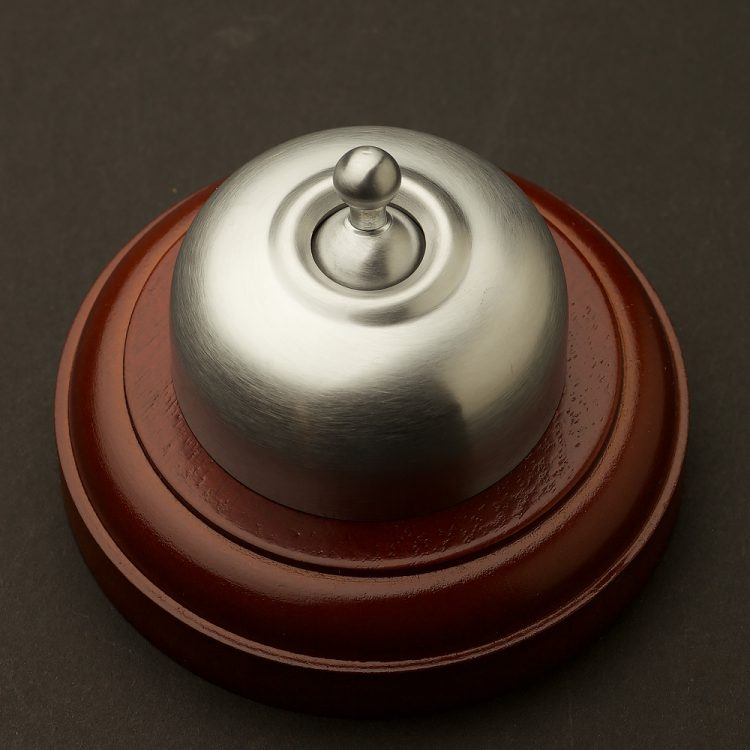 Traditional Satin Chrome single light switch